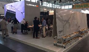 Компания Laminam представила новинки на выставке Marmomacc 2016 в Вероне.