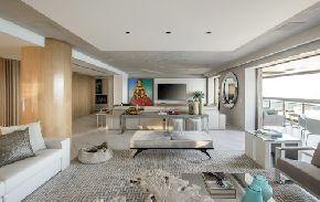 Дом отдыха, разработанный Alexandre Cardim Arquitetura & Design с коллекцией Inalco
