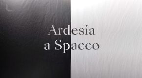 Новинки - Laminam Ardesia Nero/Bianco a Spacco