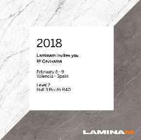 Laminam участвует в выставке Cevisama в Испании